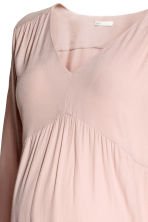 MAMA Crêpe tunic - Powder pink - Ladies | H&M CN 3